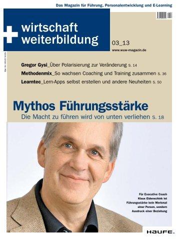 Mythos Führungsstärke - Haufe.de