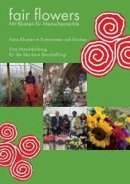 Faire Blumen in Kommunen und Kirchen - Christliche Initiative ...