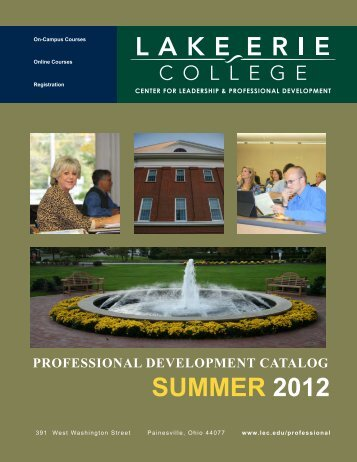 SUMMER 2012 - Lake Erie College