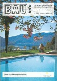 BAU info über die Chasa Nova 11/12-2012 - Hotel Belvédère Scuol