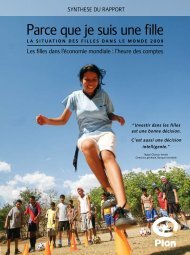 Parce que je suis une fille - United Nations Girls' Education Initiative