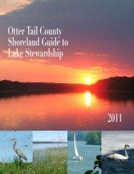 OTC Shoreland Guide to Lake Stewardship - Otter Tail County