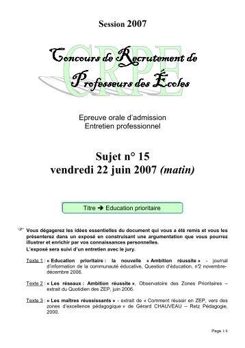2007-15 - IUFM