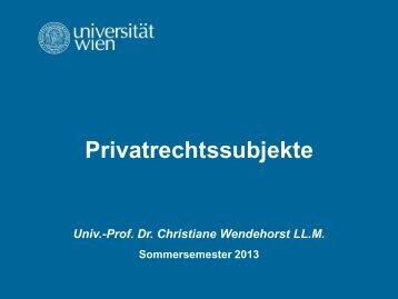02 BuergR AT.pdf, Seiten 1-12 - Institut für Zivilrecht - Universität Wien