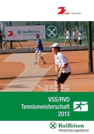 VSS/RVD Tennismeisterschaft 2013 - Verband der Sportvereine ...