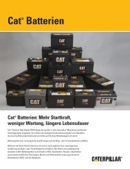 Cat® Batterien - ESA