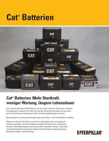 Cat® Batterien - ESA