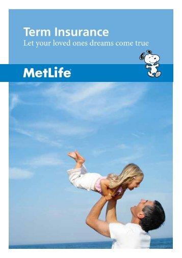 Term Insurance - MetLife Alico