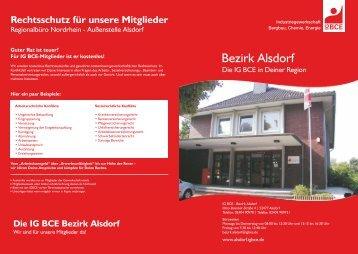 Die IG BCE Bezirk Alsdorf - IGBCE Elsdorf