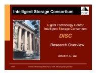 PDF 340 KB - Digital Technology Center - University of Minnesota