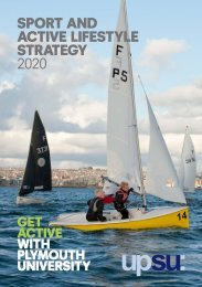 SPORT ANd ACTIVE LIfESTYLE STRATEGY 2020 - Plymouth ...