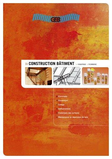 GCONSTRUCTION BÂTIMENT G CHAUFFAGE G PLOMBERIE - Geb