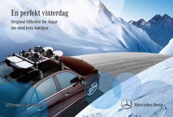 En perfekt vinterdag - Mercedes-Benz