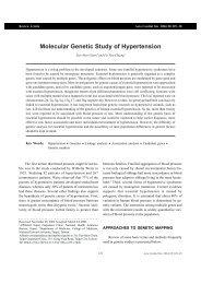 Molecular Genetic Study of Hypertension