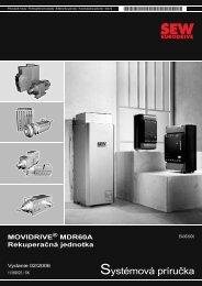 Systémová príručka - SEW Eurodrive