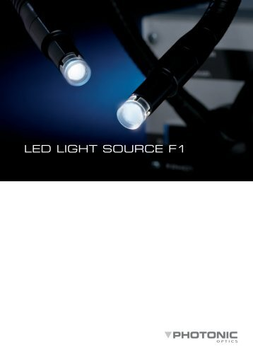 LED LIGHT SOURCE F1 - micros