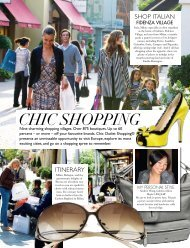 Chic Shopping - The Villages - Chic Outlet Shopping