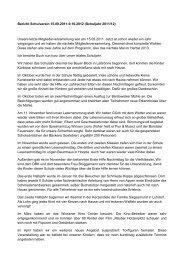 Bericht Schulverein 2012 - Grundschule Im Borsteler Grund
