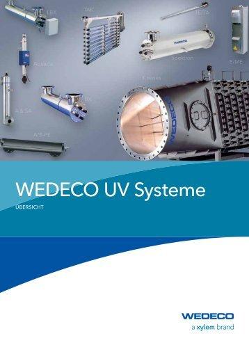 Übersicht UV-Systeme - Water Solutions