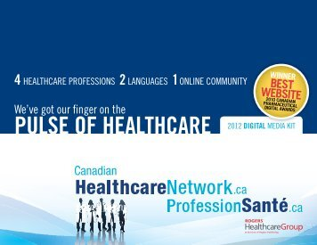 puLse of heALThcAre - Rogers Connect