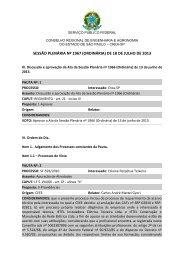 4 - ORDEM DO DIA JULHO 2013 - Crea-SP