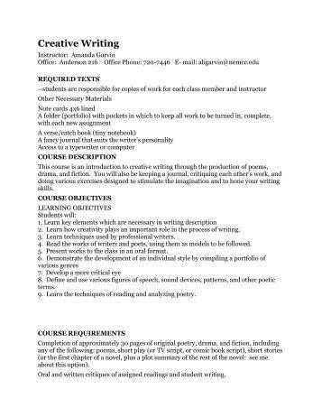 Creative writing services harvard
