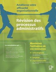 Révision des processus administratifs - Société GRICS
