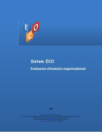 Sistem ECO - dr. Ticu Constantin