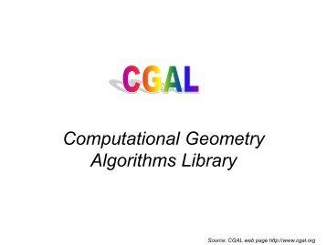 Computational Geometry Algorithms Library