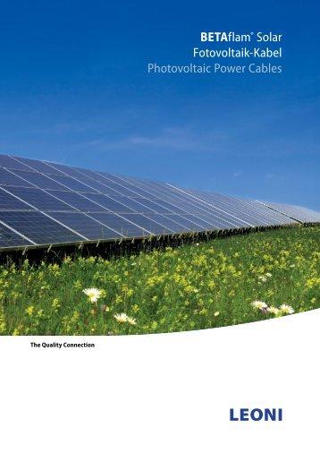 2013 (Deutsch/English) PDF, 5,8 MB - LEONI Business Unit Wind ...