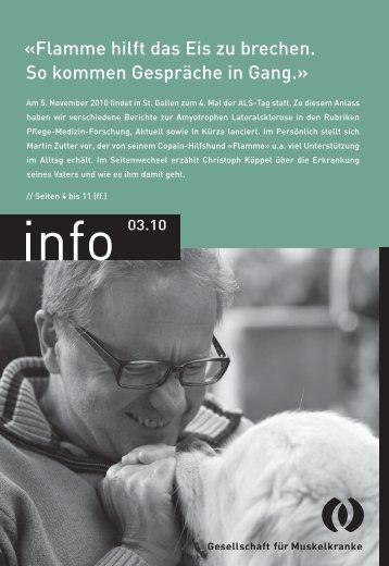 info 03.10 (PDF 2.47 MB) - Schweizerische Gesellschaft für ...