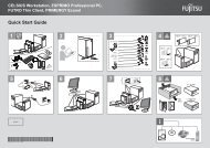 Quick Start Guide 1 2 4 5 6 7 CELSIUS Workstation, ESPRIMO ...