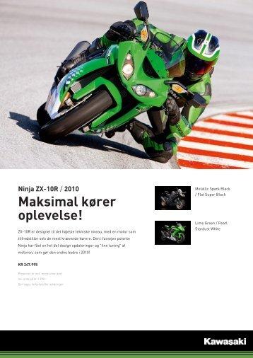 Ninja ZX-10R - KJ Motorcykler