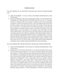 Balánbányai útvonalak - Hargita Megye Tanácsa