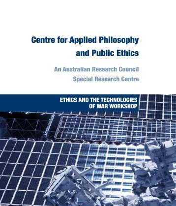 Click Here - CAPPE. Centre For Applied Philosophy and Public Ethics.