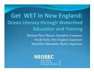 Get WET in New England - Neosec