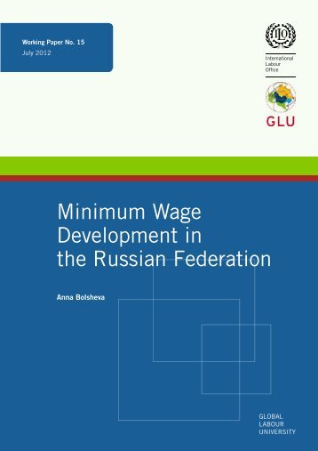 Minimum Wage Development in the Russian Federation
