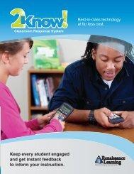 Classroom Response System - Renaissance Learning