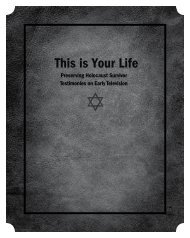 This is Your Life - UCLA Film & Television Archive