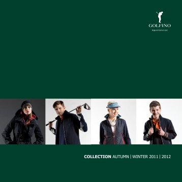 COLLECTION AUTUMN | WINTER 2011 | 2012 - Golfino