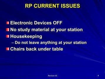 RadWorker Briefing