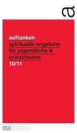 auftanken spirituelle angebote für jugendliche & erwachsene 10/11 ...