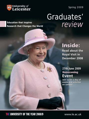 Graduates' Review 09 - University of Leicester