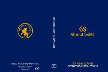 9R15 / 9R65 / 9R66 / 9R84 / 9R86 (Grand Seiko Spring Drive)