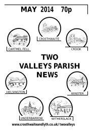 TVPN Aug 2013.pub (Read-Only) - The Parish of Crosthwaite and Lyth
