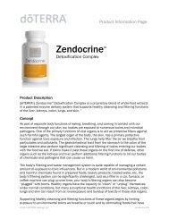 Zendocrine™ - dōTERRA - Essential Oils