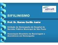sifilinismo - Associação Brasileira de Reciclagem e Assistência em ...
