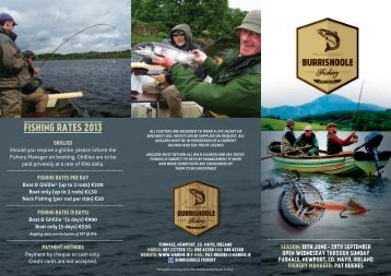 Burishoole Fishery flyer - Marine Institute