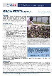 USAID-KHCP Monthly Bulletin #17 February 2012 - Fintrac Inc.