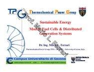 Lesson VI - Fuel cells (SOFC) - TPG